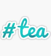 #tea Sticker