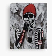 Skeleton bones Canvas Print