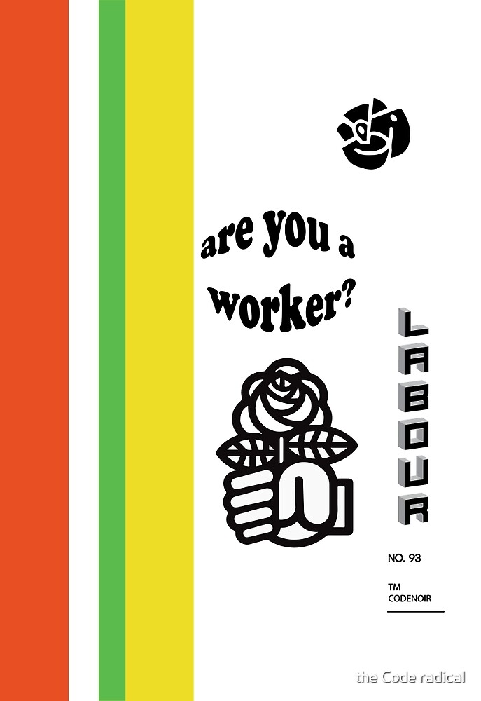 Are you a worker? Tee by La Résistance