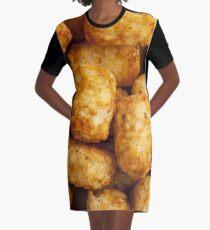 tater tots Graphic T-Shirt Dress
