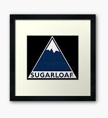 Sugarloaf Maine Framed Print