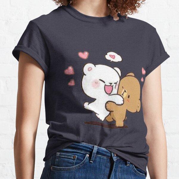Lait & Moka Design T-shirt classique