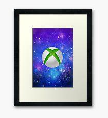 Xbox Galaxy One  Framed Print
