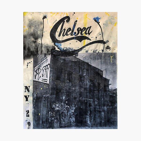 Chelsea Manhattan | Pop art | Street-art | Graffiti aesthetics Photographic Print
