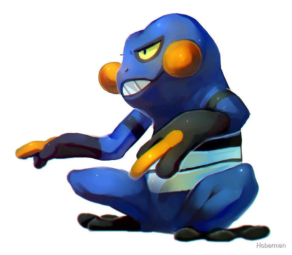 Croagunk  by Hobermen