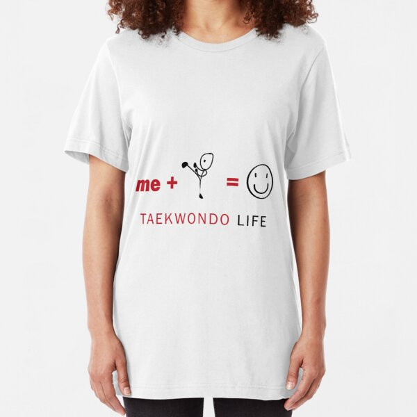 Taekwondo life Slim Fit T-Shirt