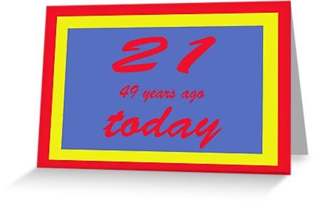 21 again birthday 70th  by martinspixs