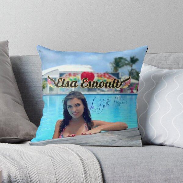 Elsa Esnoult Throw Pillow