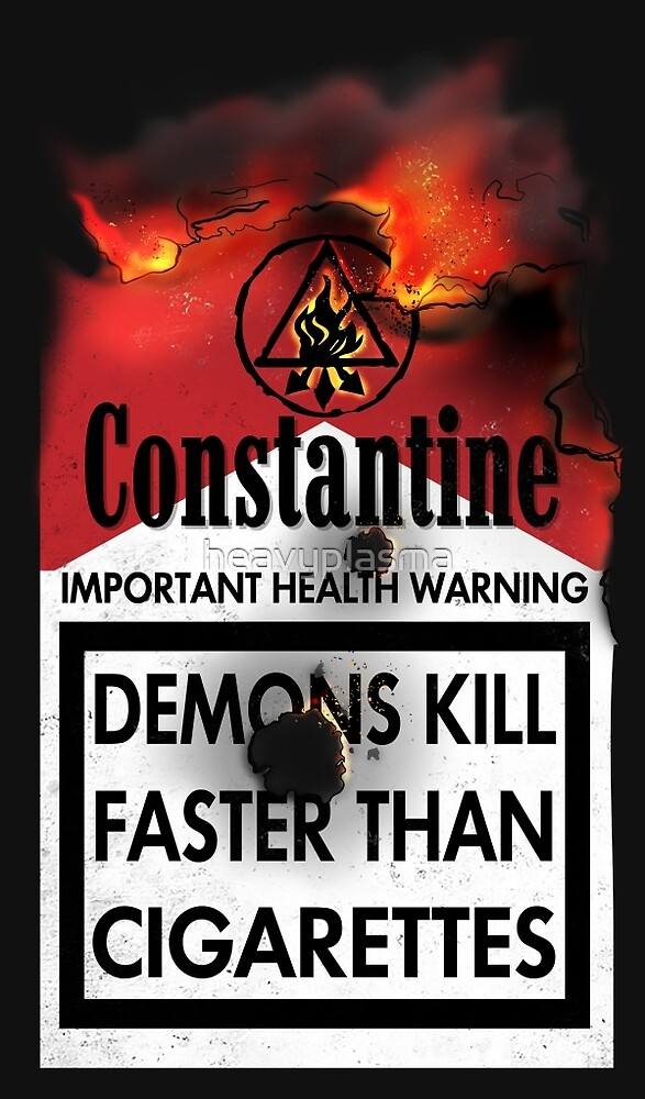 Constantine Warning by heavyplasma