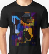 Techno Abstract Unisex T-Shirt