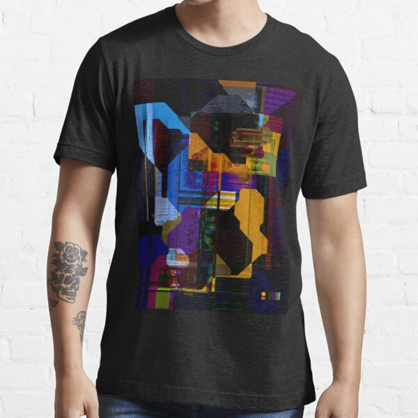 Techno Abstract Essential T-Shirt