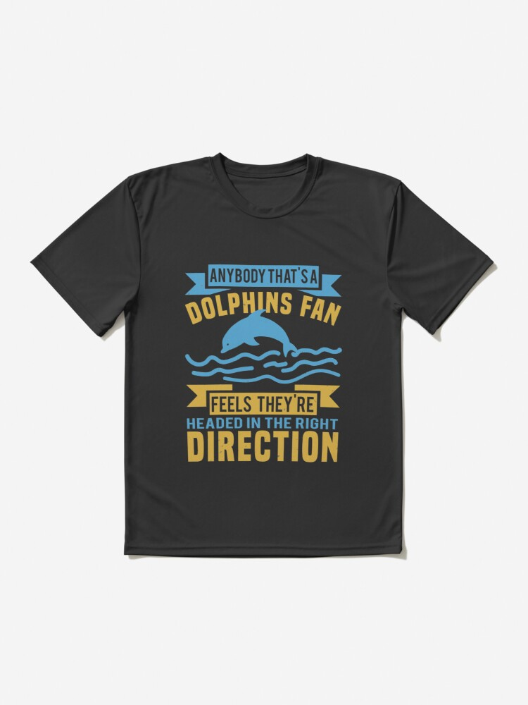 Dolphins fan Active T-Shirt