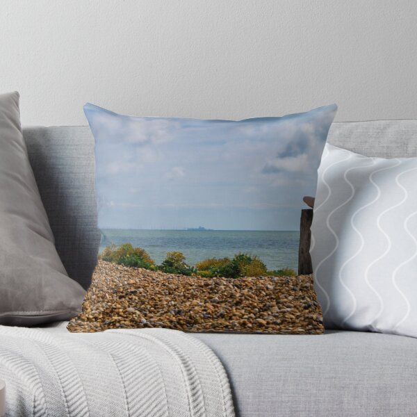 Rye Bay Throw Pillow