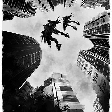 Mecha Flight by dibuholabs