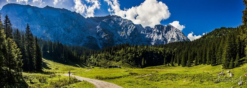 Wettersteinalm by Imagericius