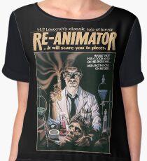 Re-Animator Tshirt! Chiffon Top