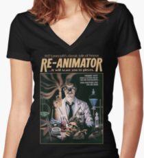 Re-Animator Tshirt! Women's Fitted V-Neck T-Shirt