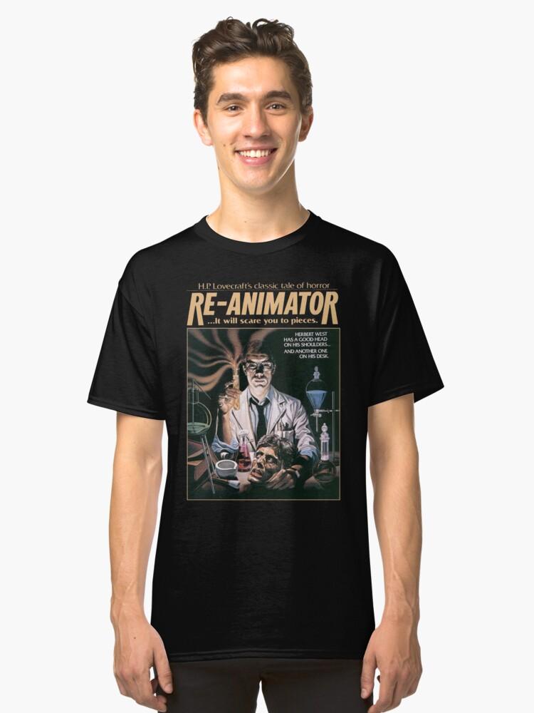 Re-Animator Tshirt! Classic T-Shirt Front