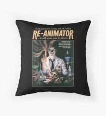 Re-Animator Tshirt! Throw Pillow