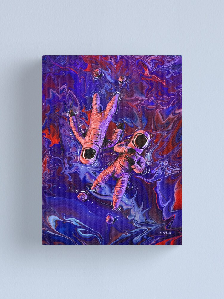 Alternate view of Drifters Canvas Print