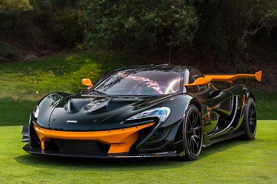 McLaren P1 GTR by David Coyne