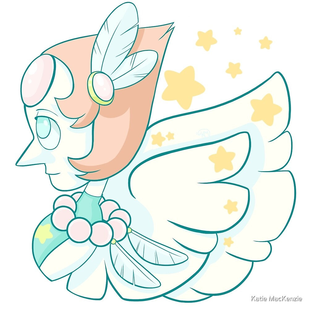Steven Universe - Feathered Pearl by Katie MacKenzie