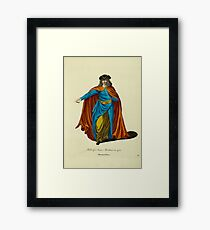Habit of a Franc Merchant in 1700 Marchand Franc 105 Framed Print