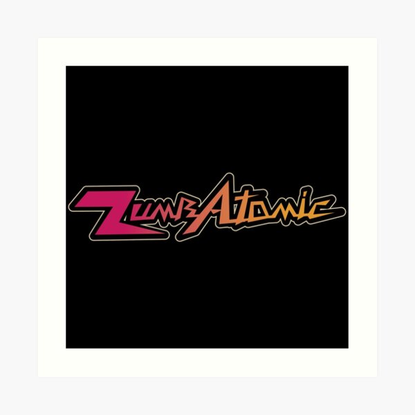 Creative Zumbatomic Logo Essential Design Art Print