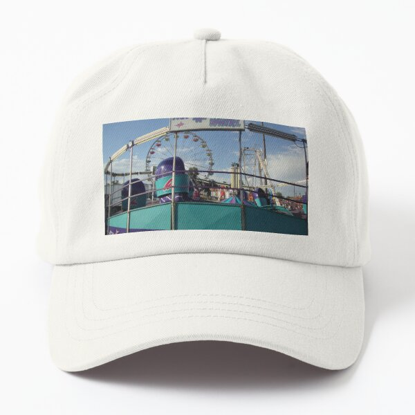 Tilt-A-Whirl Ride Photo Dad Hat