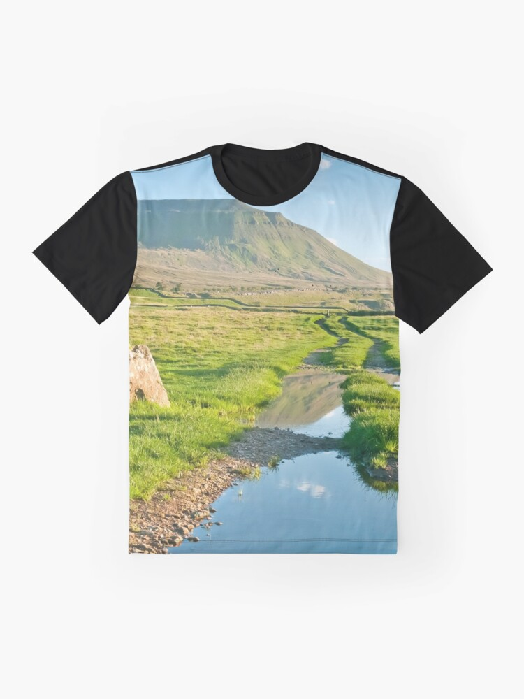 Alternate view of Reflective Ingleborough Graphic T-Shirt