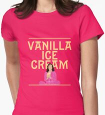 Vanilla Ice Cream | She Loves Me Women's Fitted T-Shirt