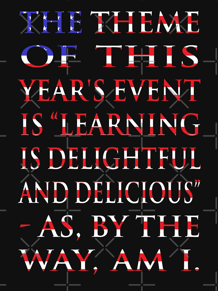 "NDVH ""Learning is delightful and delicious"" by nikhorne"
