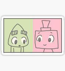 San & Cuatro - Duality Sticker