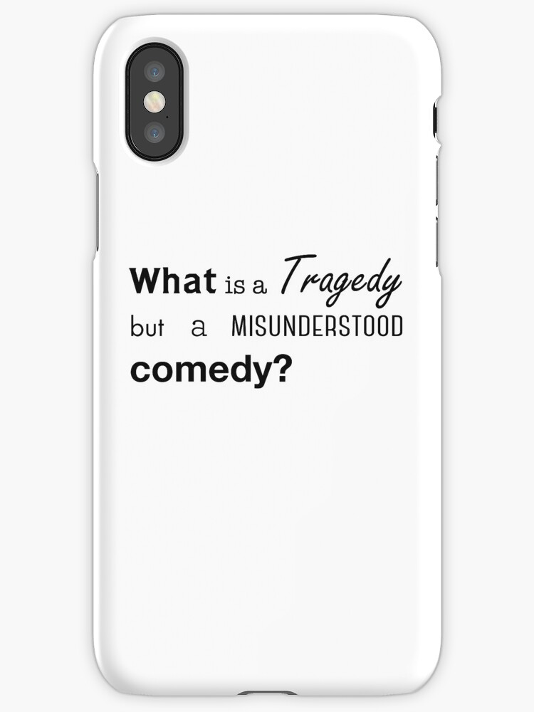 What is a Tragedy but a Misunderstood Comedy? (2) by uumoky