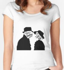 """Here's looking at you, Kid."" Women's Fitted Scoop T-Shirt"