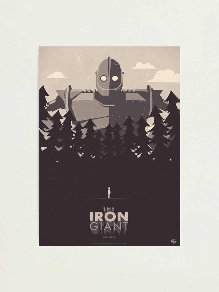 Alternate view of The Iron Giant Photographic Print