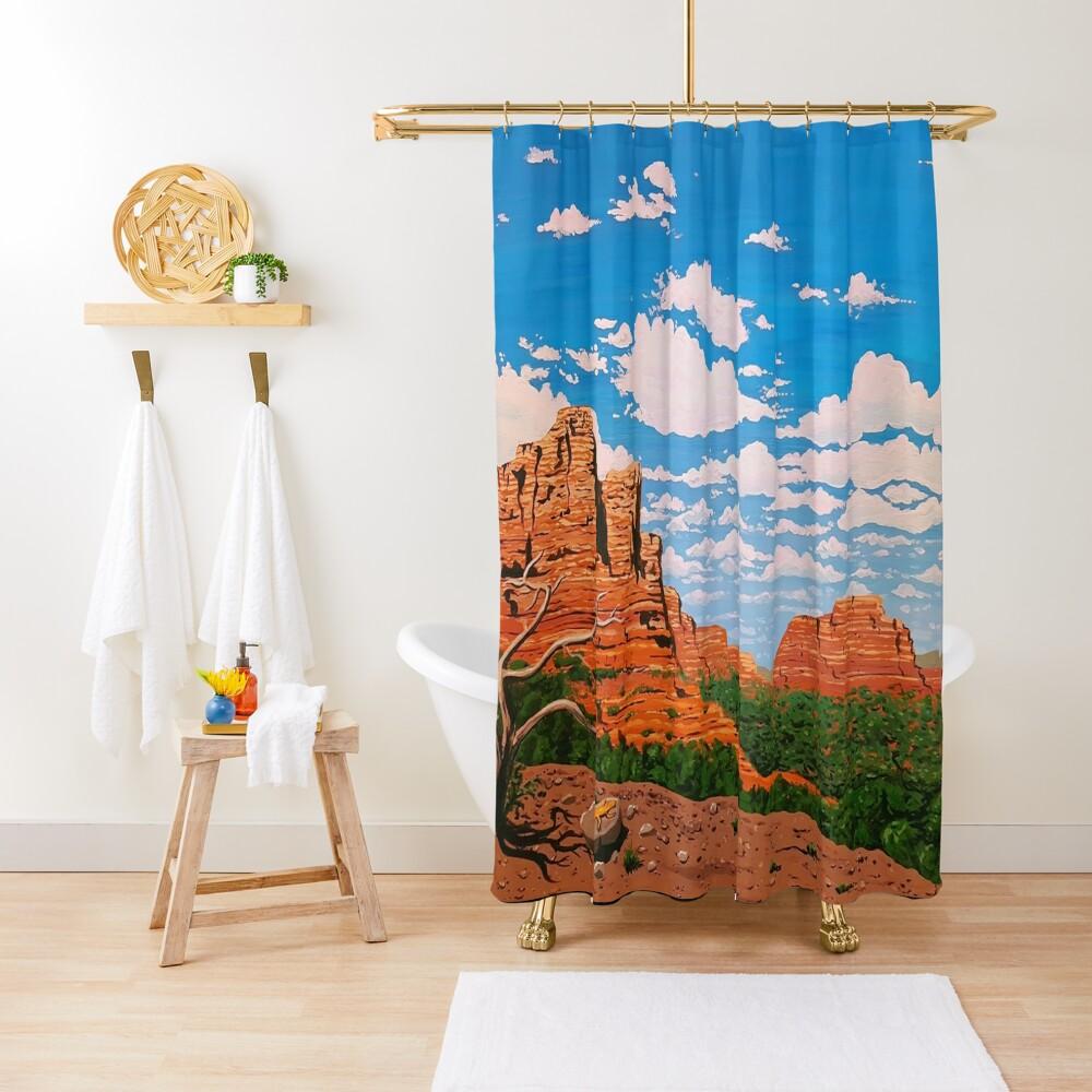 The Lizard King Shower Curtain