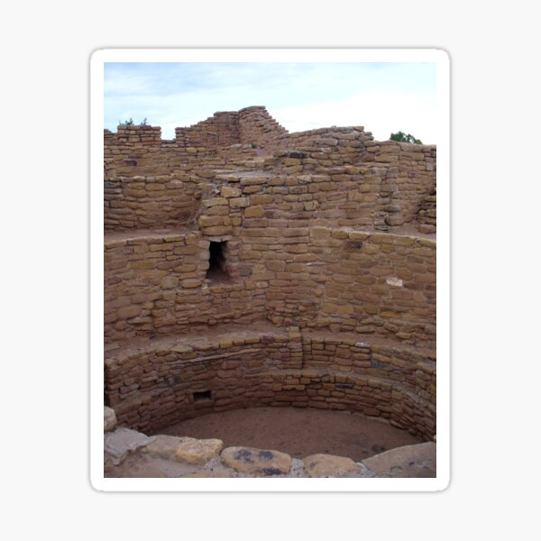 Aztec National Monument, New Mexico, USA Sticker