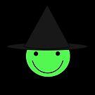Autumn Bay - DJ Wicca Witch symbol by ProfEtheric