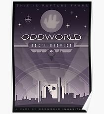 Oddworld: Abe's Oddysee Poster