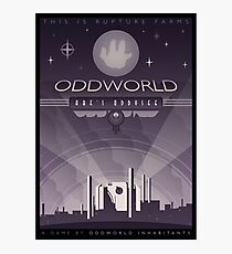 Oddworld: Abe's Oddysee Photographic Print
