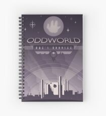 Oddworld: Abe's Oddysee Spiral Notebook