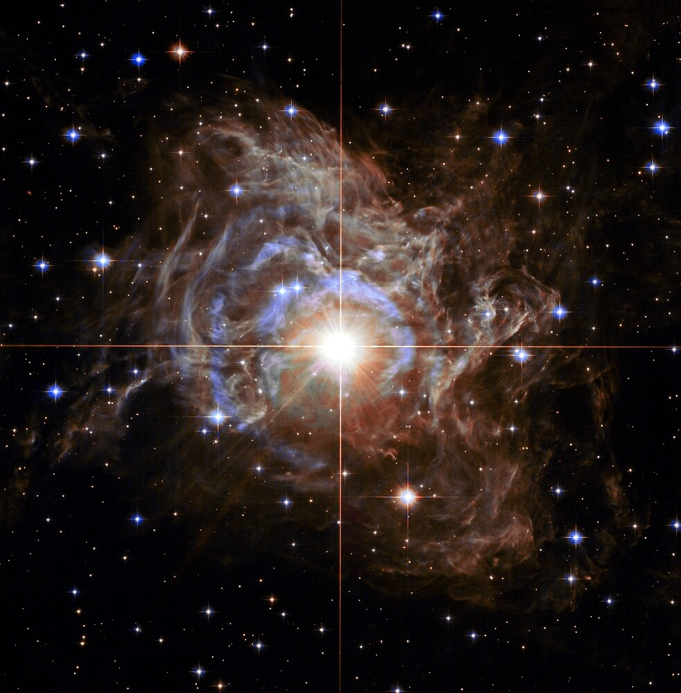 R Puppis - Cephid variable star by CosmicStyles