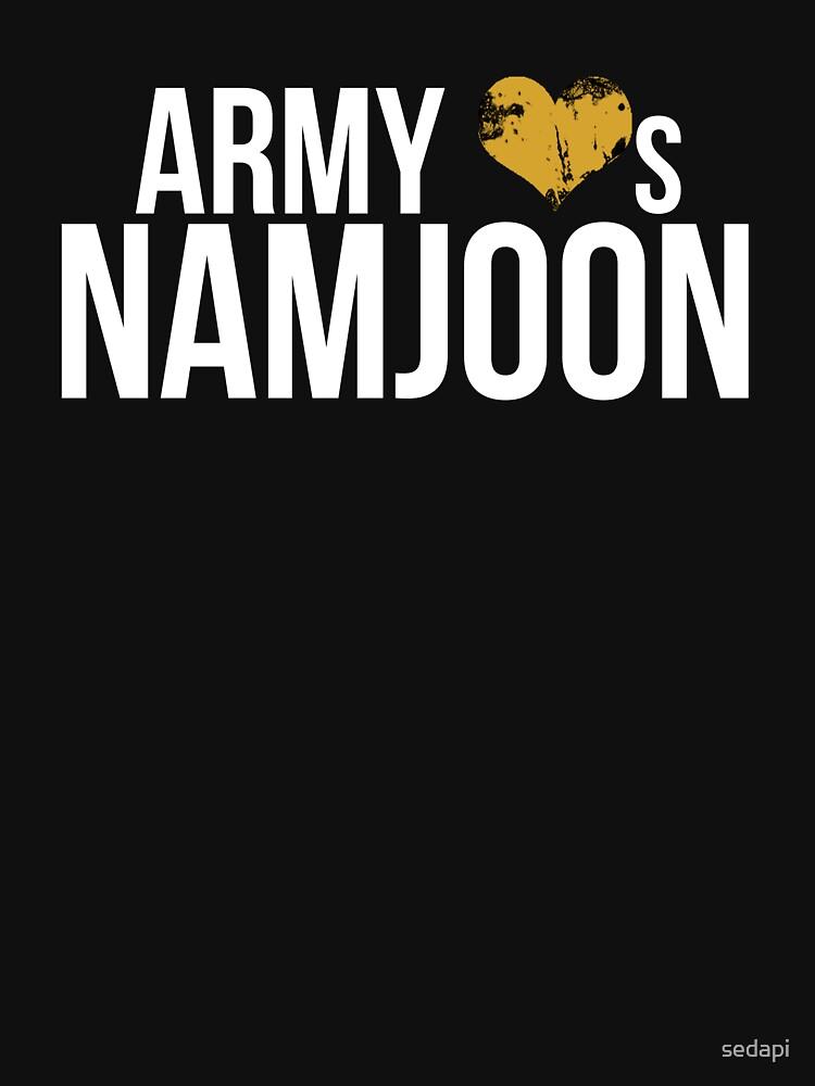 ARMY Loves Namjoon! by sedapi