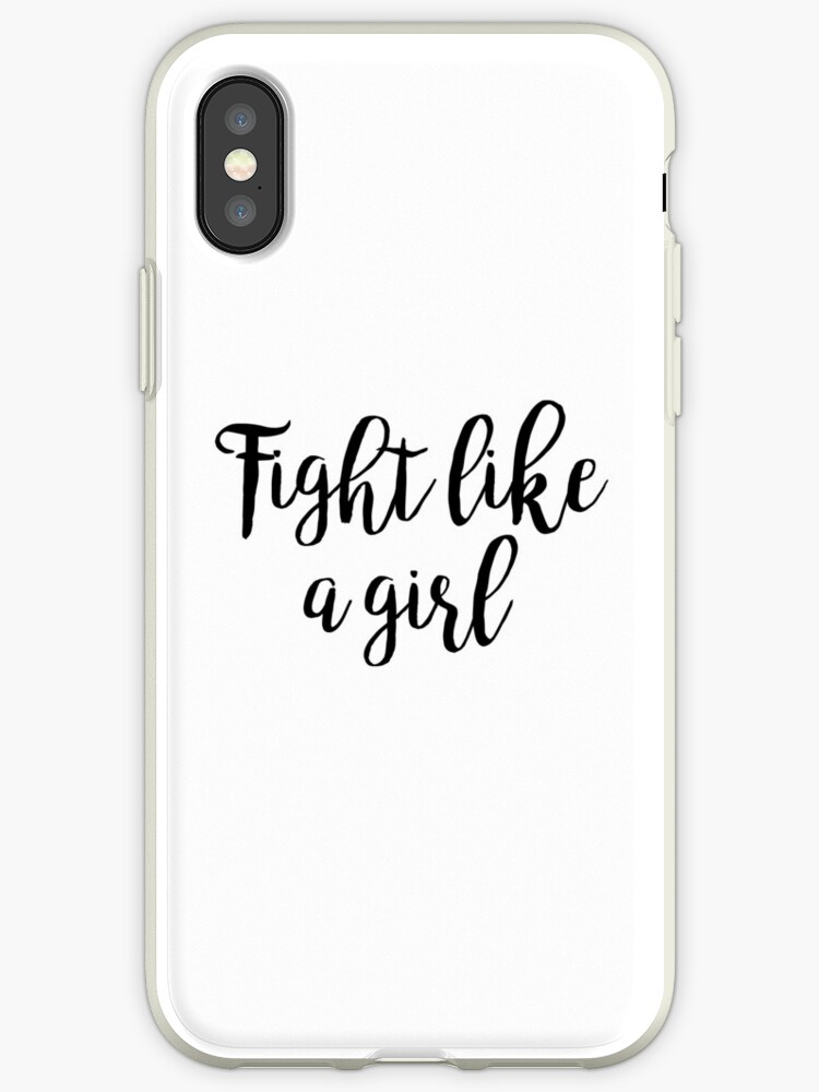 Fight like a girl by Quotation  Park