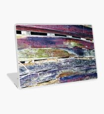 Colorful Barnboard  Laptop Skin