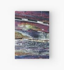 Colorful Barnboard  Hardcover Journal