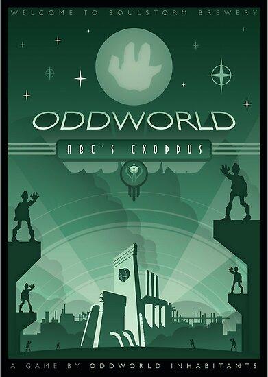 Oddworld: Abe's Exoddus by Jonny Eveson