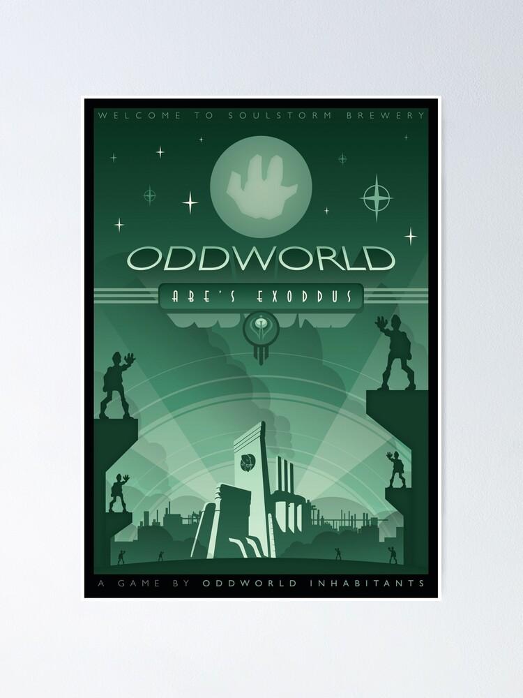 Alternate view of Oddworld: Abe's Exoddus Poster