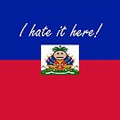 Haiti - I hate it here! - Flagging Awesome by flaggingawesome
